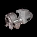 Мотор-редуктор червячный двухступенчатый MRTxRT